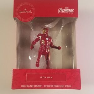 Hallmark ornament marvel avengers iron man NEW
